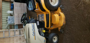 Cub cadet  lawnmower super Lt 1554