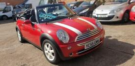 2005 55 Mini Cooper Convertible – 1598cc – Service History – Low Mileage
