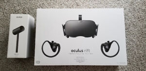 Oculus Rift + touch controllers + 3 cameras.
