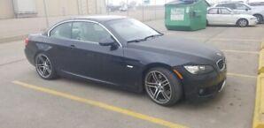 2009  BMW 335I M SPORT/CABRIOLET/6 Spd