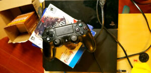 PS4 for $430 w/ 5games,1 control, premium HDMI cable