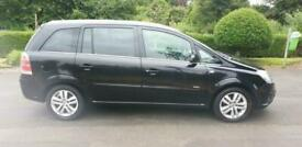 Vauxhall/Opel Zafira 1.8i 16v 2007.5MY Design 7 SEATER CAN DELIVER CARDS WELCOME
