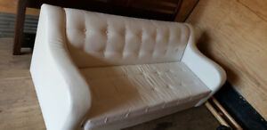 White leather couch for sale