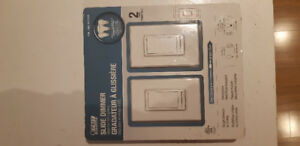 Dual Pack Dimmer Switches LED compatible