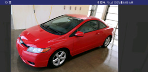WANTED TO BUY 06/07 CIVIC COUPE AUTOMATIC