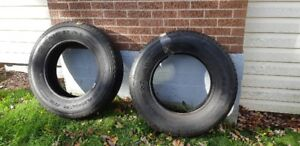 2-LT225/75R/17 GENERAL GRABBER ALL SEASON WITH 13/32NDS TREAD