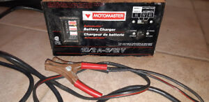 Motomaster Battery Charger 10/2 Amp. 6/12 Volt. Automatic $40
