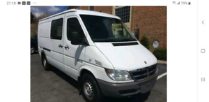 ISO looking for a dodge sprinter 2001 to 2006  2500 or 3500