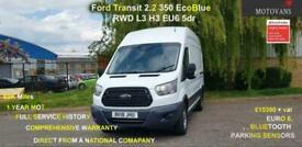 2018 Ford Transit 2.0 350 EcoBlue RWD L3 H3 EU6 5dr - 1 OWNER, FSH, 1YR MOT, WA