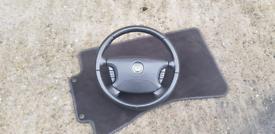 Jaguar XJ X350 Steering Wheel Black X358 XJR XJ8 Sovereign