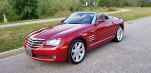 2008 Chrysler crossfire convertible