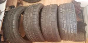Cooper rs3s summer tires 225/45/17