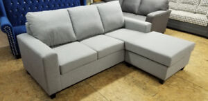 Brand New Small Cozy Sectional - Made in Canada- WE CAN DELIVER