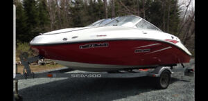 Sea doo boat for sale 255 hp new motor and new supercharger