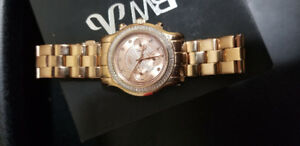 JBW Womens 18k Rose Gold Plated Watch | w/ proof of authencity