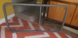 Campervan glass side sliding window