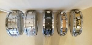 SNARE DRUMS, CYMBALS, DRUM KITS, HARDWARE - Mint Cond