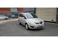 2009 09 VAUXHALL ZAFIRA 1.6i ONLY 45,000 MILES WARRANTED