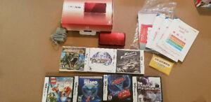 Nintendo 3DS + 7 Jeux 3DS et DS