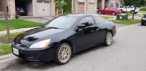2006 HONDA ACCORD 2 DOOR EXL-V6 MANUAL (RARE)