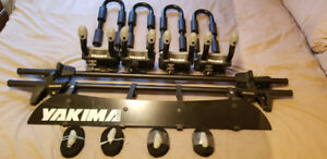Yakima Complete Roof Rack System for One Canoe & Two Kyaks