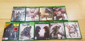 Selling various Xbox One games for cheap