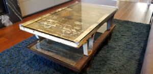 1950s industrial Vintage Coffee Table