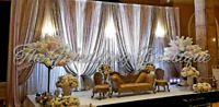 SOUTH ASIAN WEDDING DECOR AND EVENT BACKDROPS