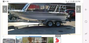 2008 custom weld jet boat