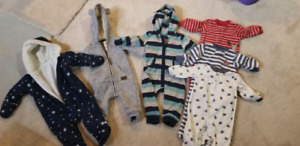6mths baby boy winter clothes  $20 lot