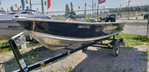 2012 LEGEND 14 WIDEBODY fishing boat W/ 20hp MERCURY & Trailer