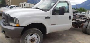 2003 Ford F-550  Powerstock