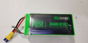 Batteries Pulse 6S 22.2v 25C 22000mah Lipo