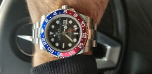 ROLEX  GMT  (PEPSI )   REFERENCE: 126710BLRO   - 2018 MODEL-