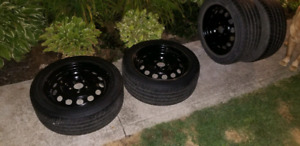 Rims and tires (set of 4)