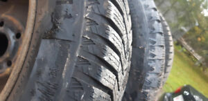 I have 4 195/65R15 continental winter contact