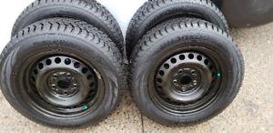 Hankook I-Pike 195/65r15 Tires Mounted / Balanced on Rims