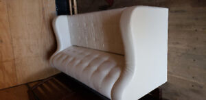White leather couch for sale sofa