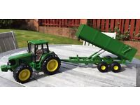 Britains John Deere Tractor & Trailer