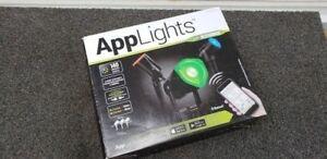 KIT DE SPOT LIGHT LUMINEUX BLUETOOTH - 140 EFFECTS 39.95$