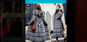 Beautiful, toasty down coats for Christmas