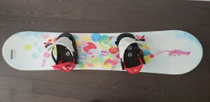 Girl's snowboard and boots for sale