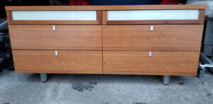 Real solid wood Made in Italy Drawer Dresser
