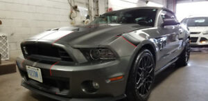 2013 Shelby GT500 Convertible.  As new condition