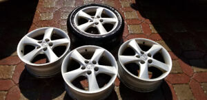 "Original Mazda 17"" Mags(OEM) with Center Cap"