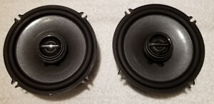 Pair of 6.5 inch Alpine Type-R  2-Way Coaxial Speakers