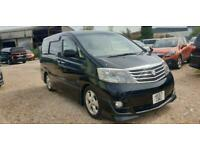 TOYOTA ALPHARD 2 BERTH CAMPERVAN WITH REAR CAMPER CONVERSION AND COOLBOX
