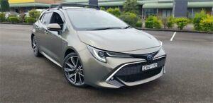 2019 Toyota Corolla ZWE211R ZR E-CVT Hybrid Gold 10 Speed Constant Variable Hatchback Hybrid