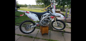 2005 crf 450 clean and tight