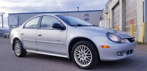 2001 Dodge Neon R/T  SPORT PKG-- 5 SPEED--ONLY 159K